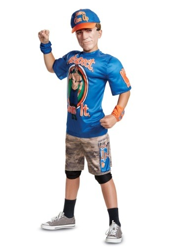 WWE John Cena Boys Muscle Costume