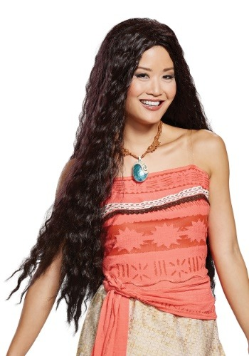 Disney Moana Women's Wig