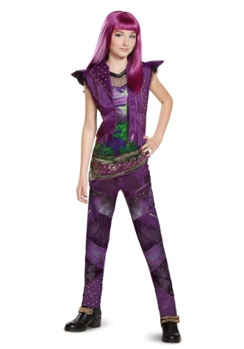 Descendants 2 Classic Mal Girl's Costume