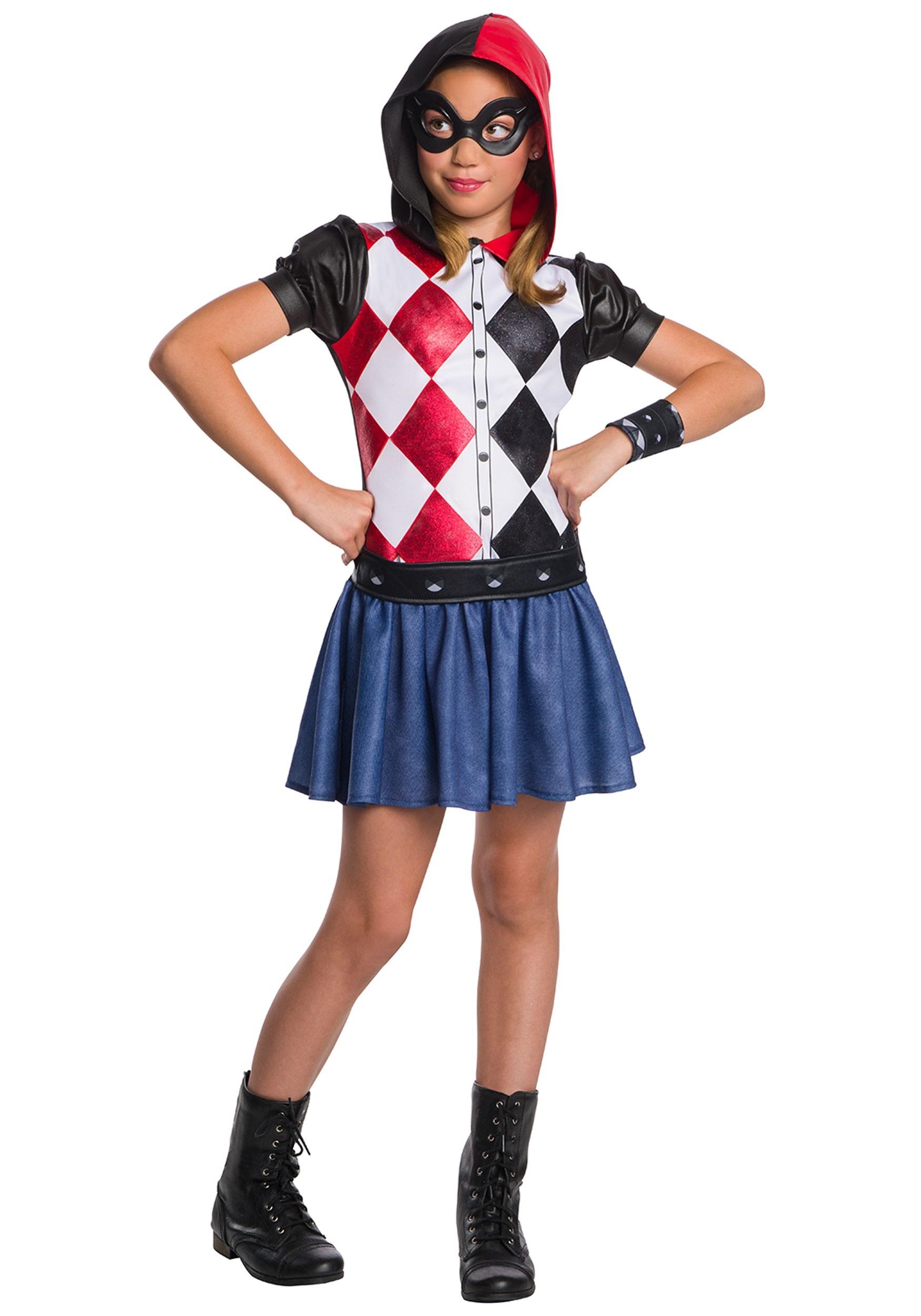Harley Quinn Costume For Kids
