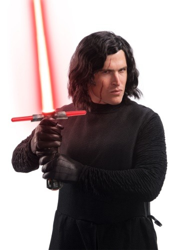 Adult Kylo Ren Wig and Scar Tattoo