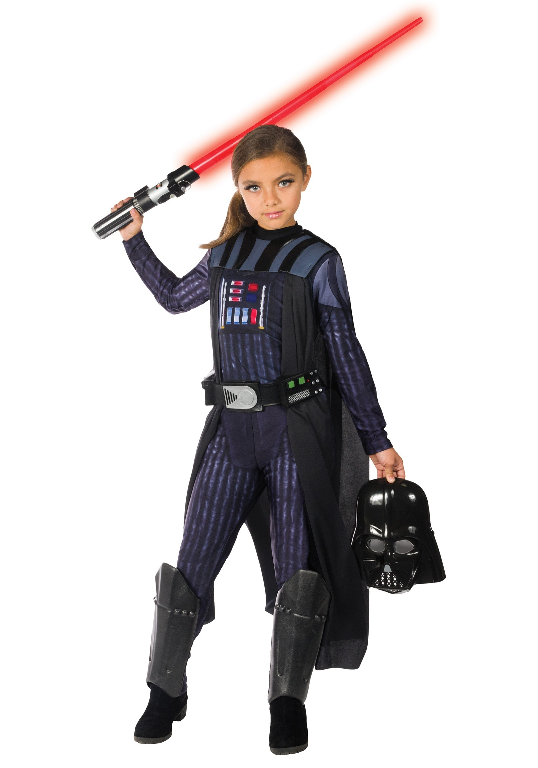 Girls Darth Vader Costume