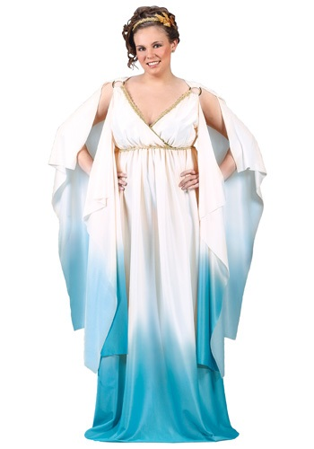 Plus Size Greek Goddess Costume