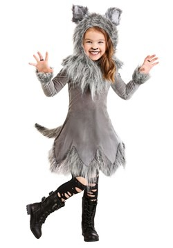 Toddler's Wolf Costume