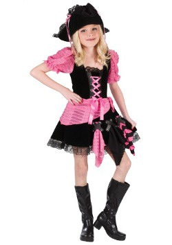 Kid's Pink Pirate Costume