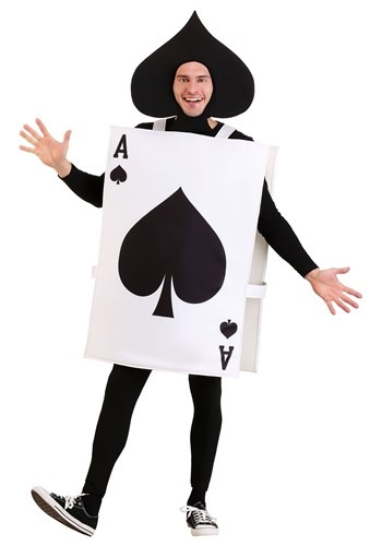 Adult Ace of Spades Costume