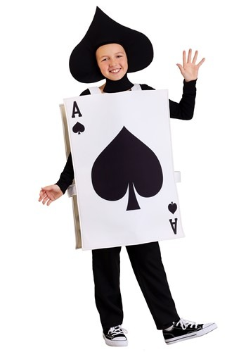 Kids Ace of Spades Costume