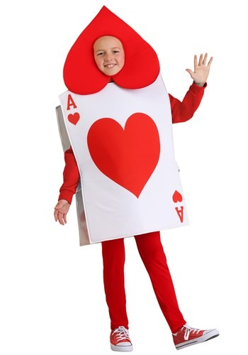 Kids Ace of Hearts Costume11