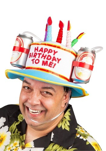 Happy Birthday Drinking Hat