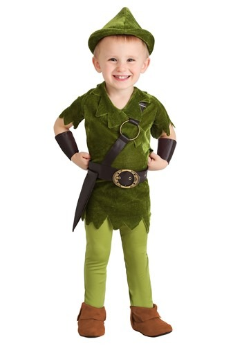 Classic Peter Pan Toddler Costume
