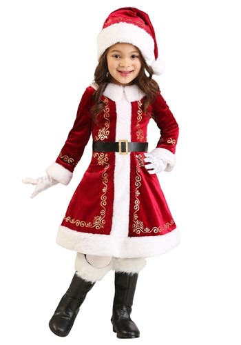 Toddler's Santa Dress Costume