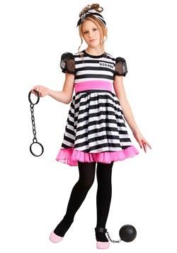 Prisoner Costume Girl's Glam