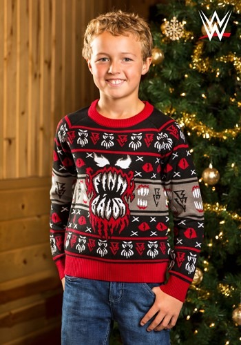 WWE Kid's Finn Bálor Ugly Christmas Sweater update