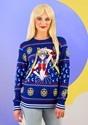 Adult Sailor Moon Fair Isle Ugly Christmas Sweater Alt 2