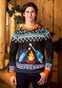 Adult's Narwhal Ugly Christmas Sweater Alt 2