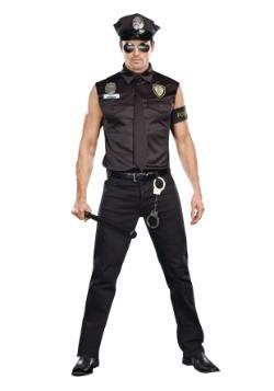 Sexy Cop Plus Size Men's Costume