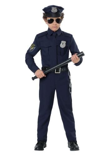 Toddler Cop Costume