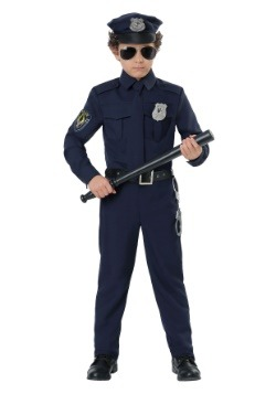 Toddler Cop Costume