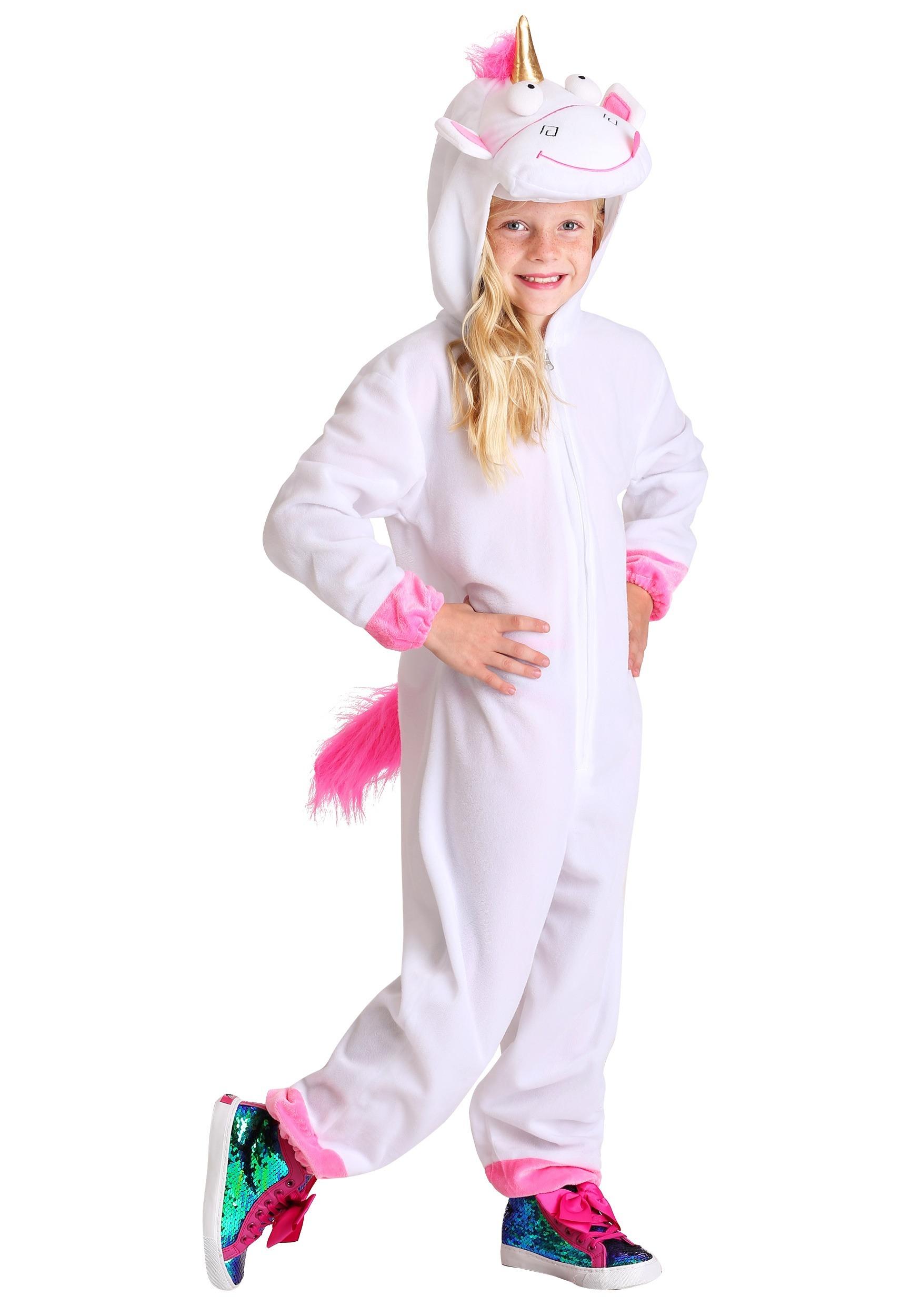 Minions Fluffy Unicorn Costume For Girls