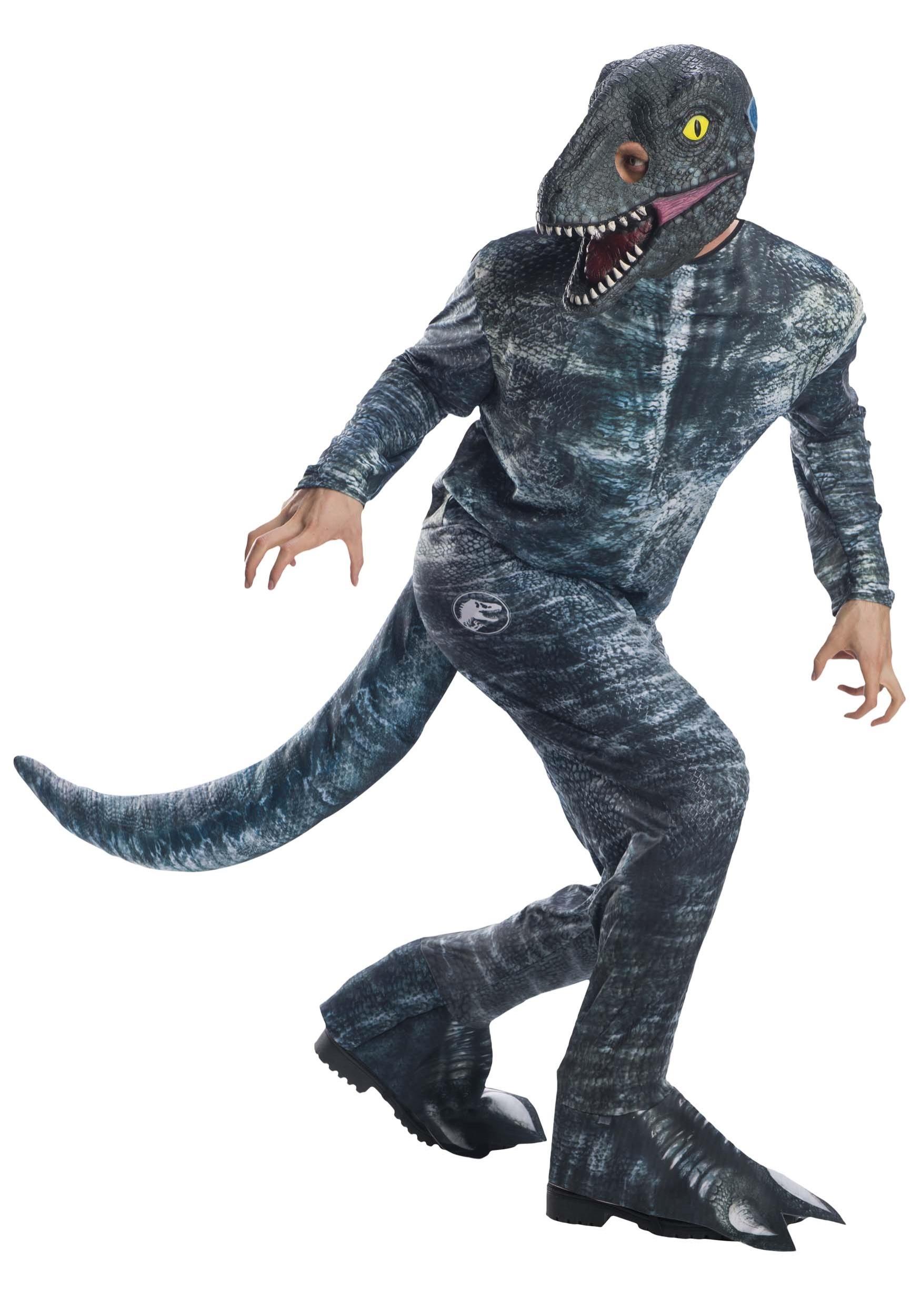 Adult Jurassic World 2 Quot Blue Quot Velociraptor Costume