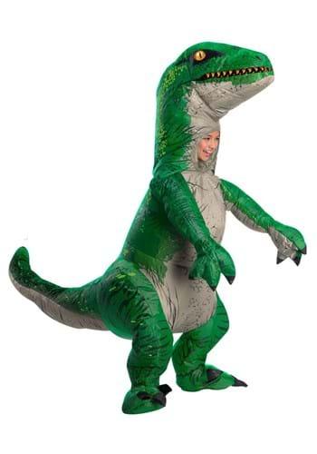 Child Jurassic World 2 Inflatable Blue Velociraptor Costume