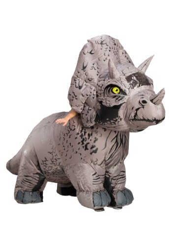 Jurassic World 2 Inflatable Triceratops Adult Costume