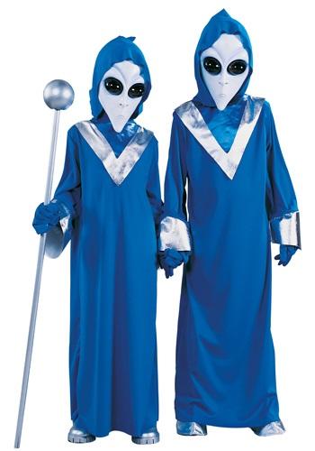 Child Space Alien Costume