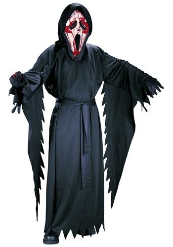 Child Bleeding Ghost Face Costume