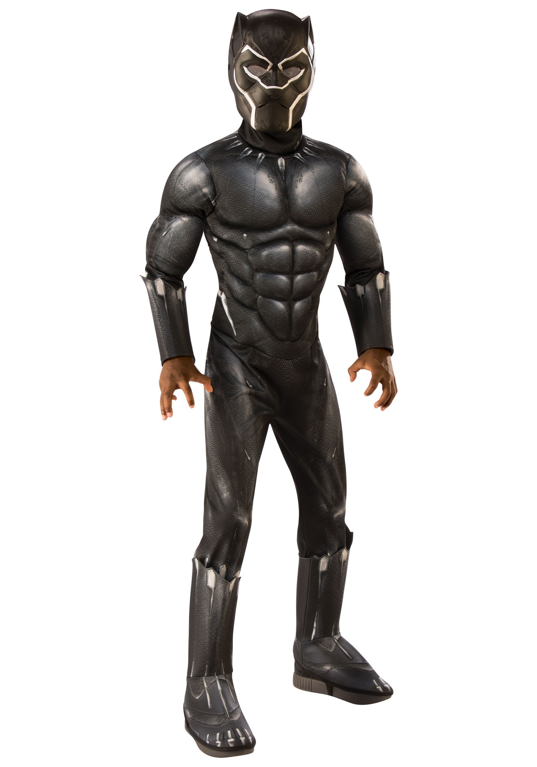 80191f3c Deluxe Black Panther Costume for Children