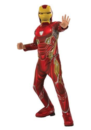 Child Marvel Infinity War Deluxe Iron Man Costume