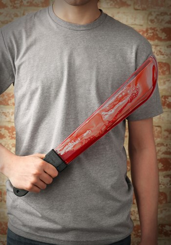 Bleeding Machete Knife