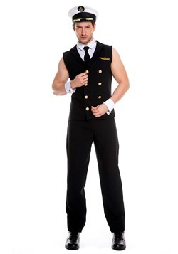 Men's Sexy Airline Pilot Costume