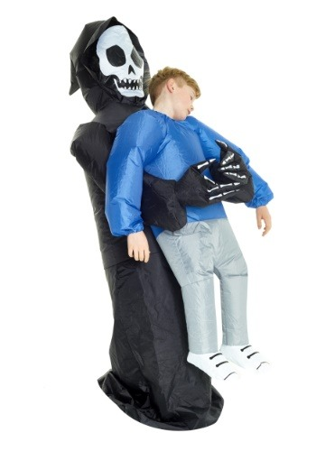 Child Inflatable Grim Reaper Pick Me Up Costume