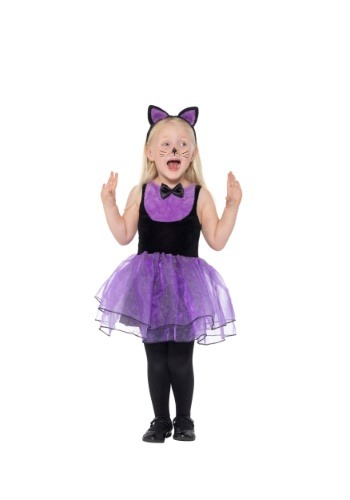 Toddler Purple Cat Costume
