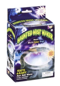 Haunted Cauldron Mist Maker with Lights