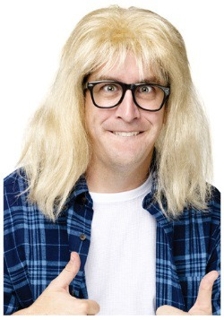 SNL Garth Algar Wig