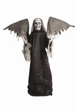 Animated Winged Reaper Decoration