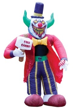 Inflatable Creepy Clown Decoration