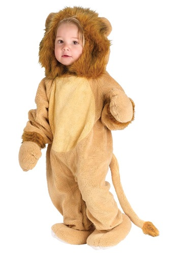 Infant Cuddly Lion Costume