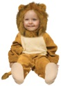 Infant Cuddly Lion Costume seated