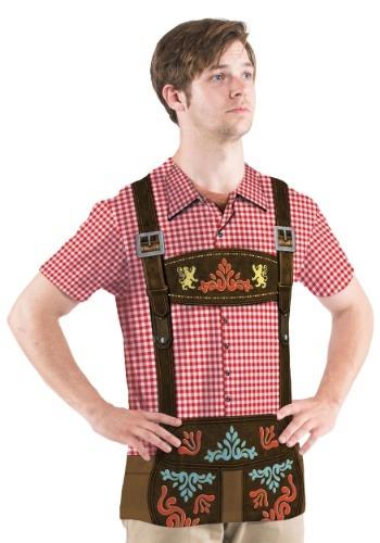 Men's Oktoberfest Short Sleeve Costume Tee