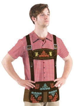 Men's Oktoberfest Short Sleeve Costume Tee