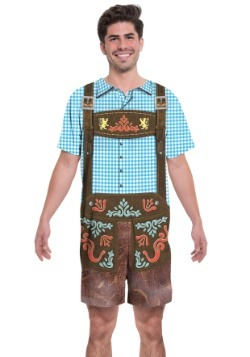 Oktoberfest Romper 2 Person Costume