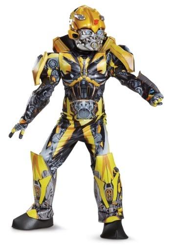 Transformers 5 Boys Bumblebee Prestige Costume
