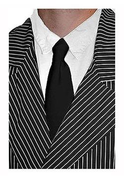 Black Gangster Tie