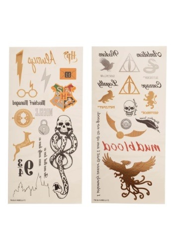 Harry Potter Temporary Tattoo Set