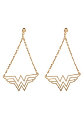 DC Comics Wonder Woman Dangle Earrings