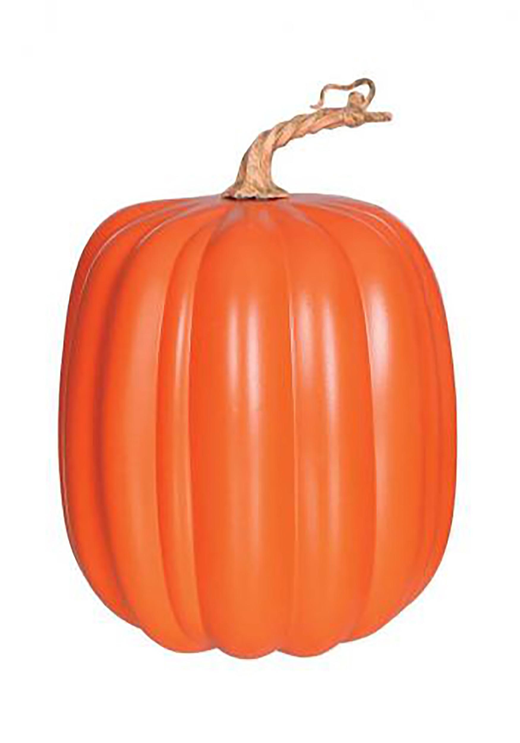 10 Tall Orange Pumpkin Decoration