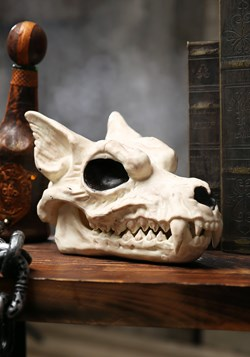 "7"" Wolf Skull Halloween Decoration"