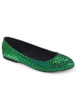 Women's Green Mermaid Shoes